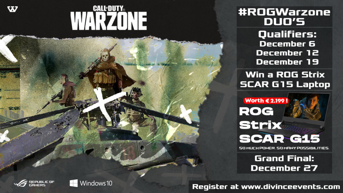 ROG Warzone qualifier Duo's 12-12