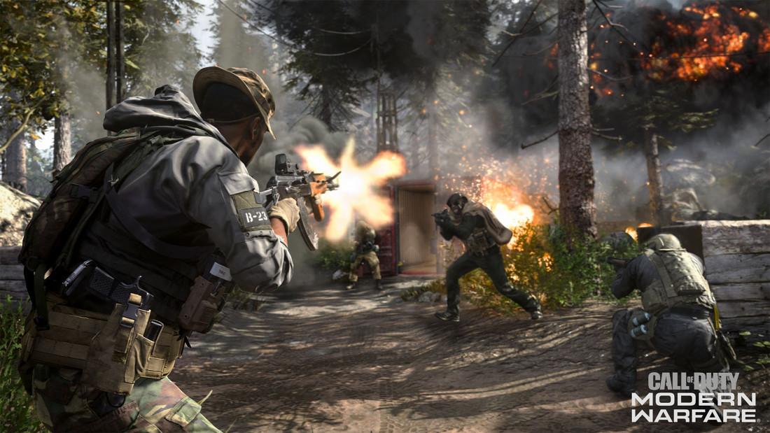 Call of Duty: Modern Warfare - 5 vs 5 variant