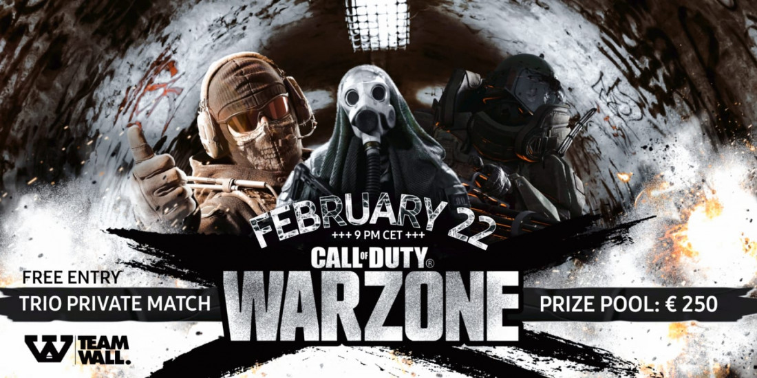 Call of Duty: Warzone private match tournament